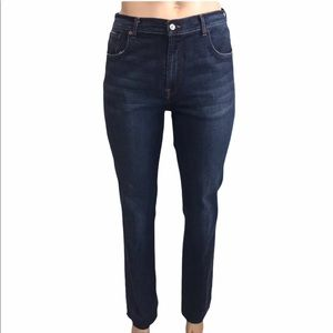 LUCKY BRAND Dungarees High Rise Long Length Jeans